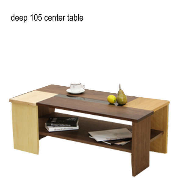 センターテーブル 高級感 北欧 木製 リビングテーブル ローテーブル DEEP ディープ 105センターテーブル ウォールナット/メープル/ブラックチェリー/ガラス/北欧/おしゃれ/table/国産/日本製