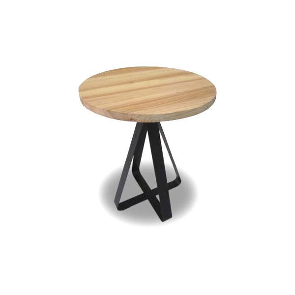50 センターテーブル ラウンド01 【Solow ソロー】 50cm リビングテーブル 【送料無料】