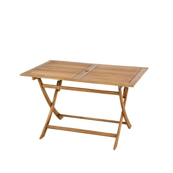 【ディノ】 208-XN 折りたたみテーブル コンパクト 美しい木目のアカシア材を使用
