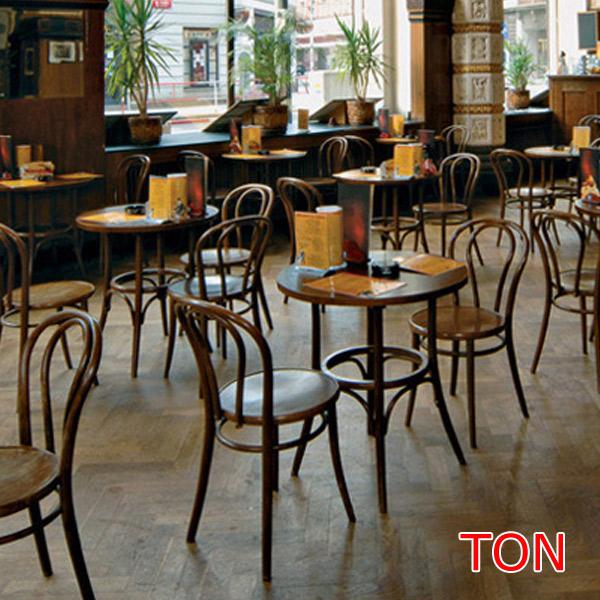 【お得なクーポン配布中★】【TON トン】 BCZ-8045-B/N テーブル カフェ バー ダイニング ヨーロッパ アンティーク調 チェコ製 【送料無料】