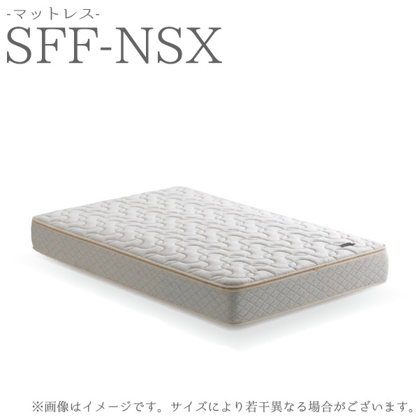 【受注生産】 マットレス セミダブル 【SFF-NSX マットレス SDサイズ】 ASLEEP アスリープ やわらかな寝心地 ファインレボ