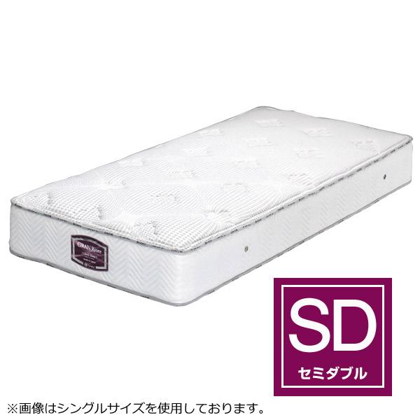 マットレス セミダブルサイズ ポケットコイル 国産【グランリオーレ クラシック3ゾーン セミダブル】SDサイズ