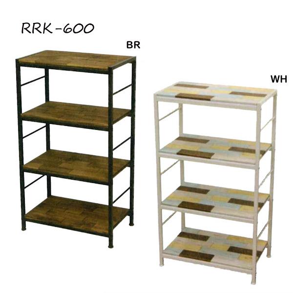 【レガロシリーズ 60ラック RRK-600】BR/WH ラック/収納/パイン材/杉材/60/WH/BR/Regalo/レガロ/おしゃれ/かわいい/インテリア/デザイン【送料無料】
