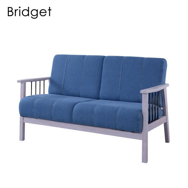 2人掛ソファ【PM-312WH】【Bridget】ブリジット 2P 2人掛け sofa ナチュラル シンプル おしゃれ