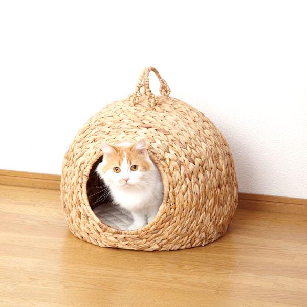 ペットハウス【ペットちぐら 大】(28636)キャットハウス 猫ちぐら