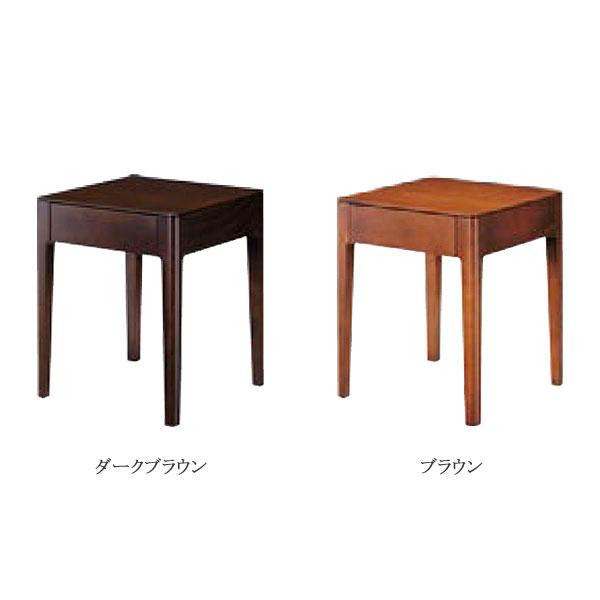 日本ベッド 【Somuno(ソムノ)】 ナイトテーブル 4本脚 シンプルデザイン シック ブナ材使用 サイドテーブル/小物置き