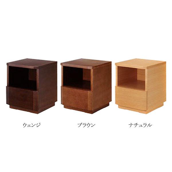 日本ベッド 【Neo Nordie (ネオノルディ)】 ナイトテーブル シンプルデザイン 3色 オーク材使用 サイドテーブル/小物置き
