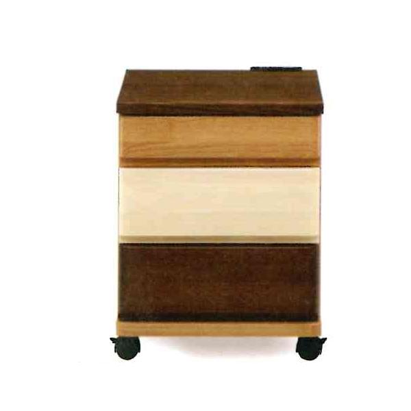 ナイトテーブル コンセント付 ベッドサイドテーブル ナイトチェスト 木製 収納家具 寝室 (TAKE テイク 403 ナイトテーブル)