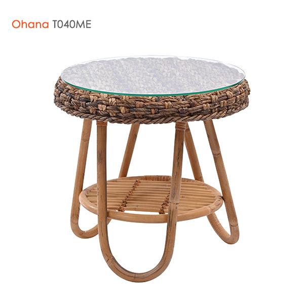 サイドテーブル【テーブル T040ME Ohana】ローテーブル ナイトテーブル