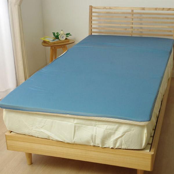 ごろ寝マット 低反発 洗える 接触冷感 『ツインクール ごろ寝マット』 プリント/無地 約65×200cm