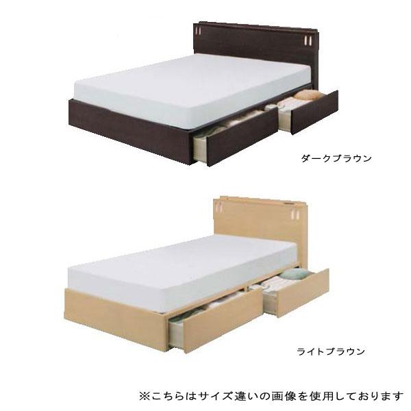 ダブルベッド 【レジェンドX Dサイズ】 収納付き 引出し付き 宮付 ベッドフレームのみ 【bed】 bed