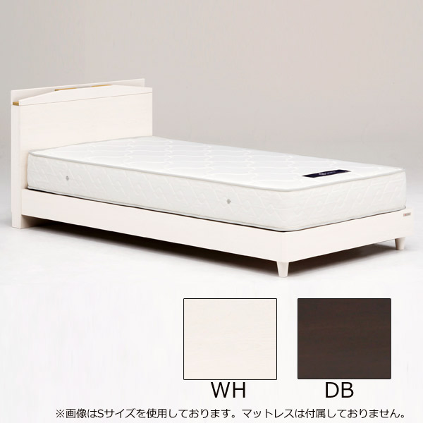 ベッド ベッドフレームのみ セミダブルサイズ 【ジュラル 引出しなし セミダブル】SDサイズ