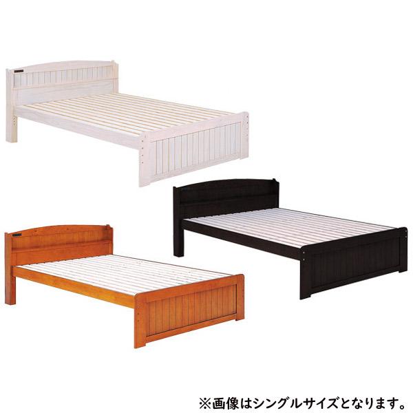 ベッド【MB-5113SD-WS/5113SD-BR/5113SDB-DBR】フレームのみ セミダブルベッド 高さ調節可能 コンセント付 新生活