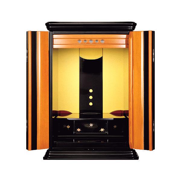 塗りモダン上置き 【和歌】 四枚戸 モダン仏壇 現代のライフスタイルに合わせた新しい仏壇