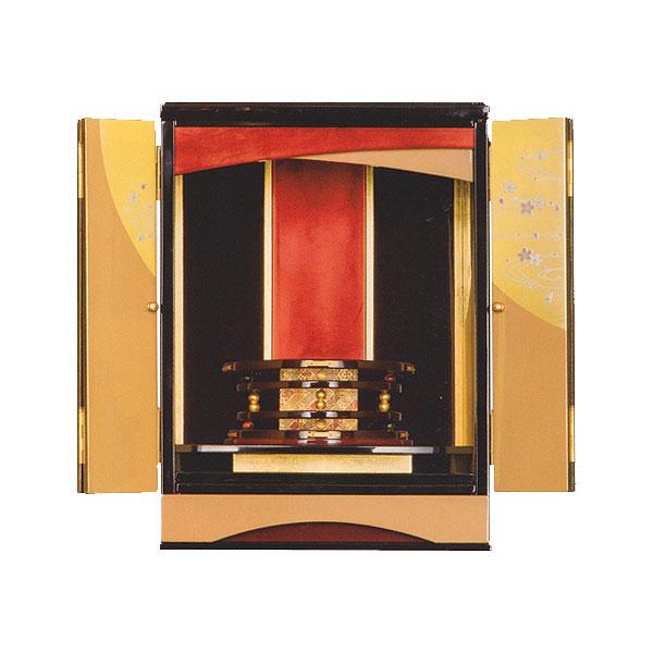 塗りモダン上置 【白河】 漆塗 モダン仏壇 現代のライフスタイルに合わせた新しい仏壇