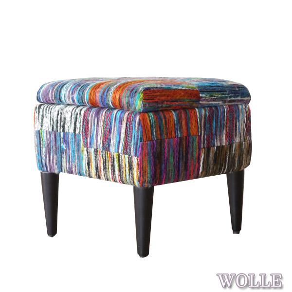 メーカー直送のため代引き不可 WOLLE ヴォレ ボックススツール 本物 S リビング 超目玉 収納 かわいい 椅子 おしゃれ チェア