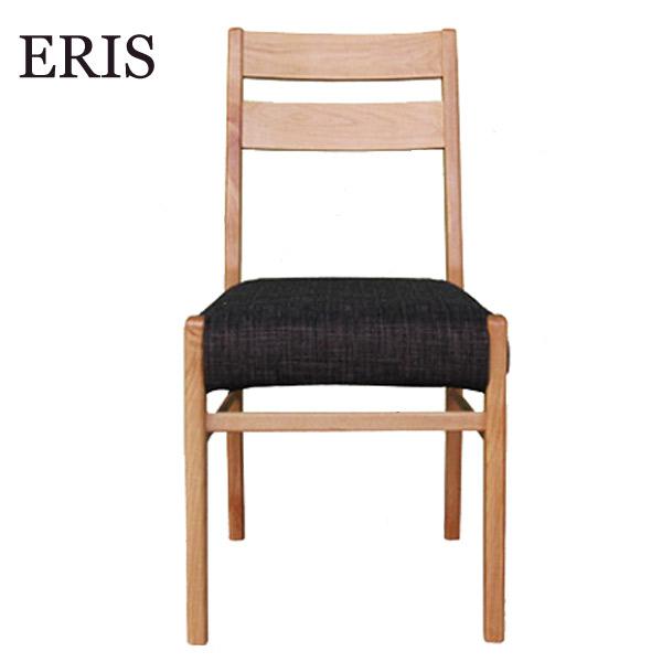 【エリスプラス】ダイニングチェア (BE-NA) GR/BE/DBR3色同梱 イス 椅子 シンプル 木製 ナチュラル おしゃれ 天然木 ファブリック
