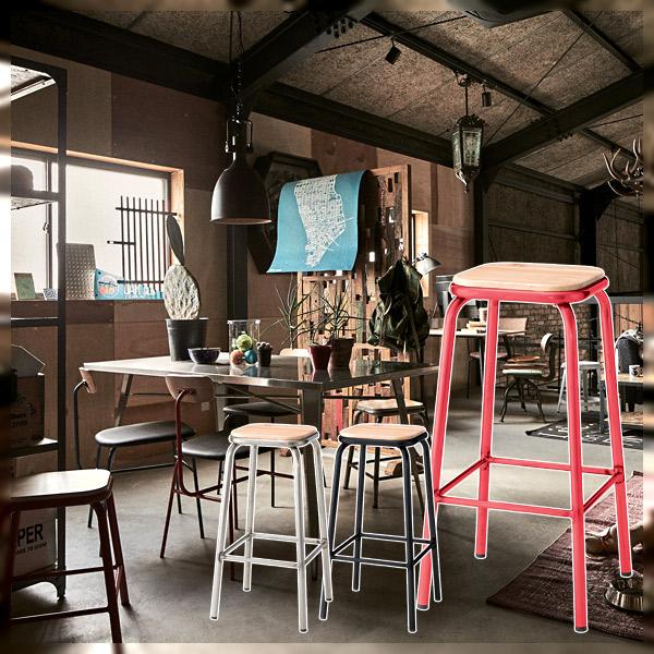 送料無料 スツール CP-67RD SV BK 椅子 イス ナチュラル 天然木 シンプル おしゃれ 別倉庫からの配送 チェア スチール [再販ご予約限定送料無料] リビング