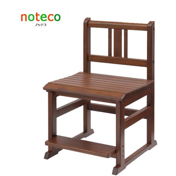 noteco チェアー【NOC-2933BR】ノッテコ 子供家具シリーズ シンプル 懐かしい 椅子 イス 天然木