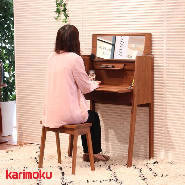 karimoku カリモク スツール【XT0346 スツール(木部:プレミアムオーダー)】シンプル/高級感/受注生産