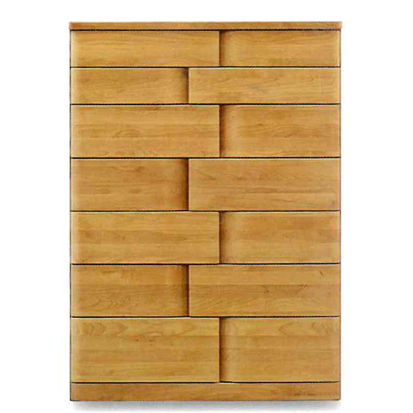 ハイチェスト 木製 たんす タンス 箪笥 【ハート 90-7段 ハイチェスト】 モダン/おしゃれ/収納家具