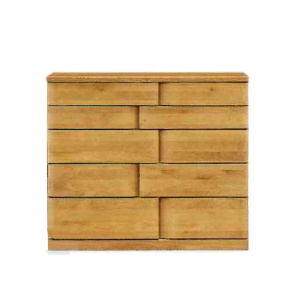 チェスト 木製 たんす タンス 箪笥 【ハート 105-5段 ミドルチェスト】 モダン/おしゃれ/収納家具