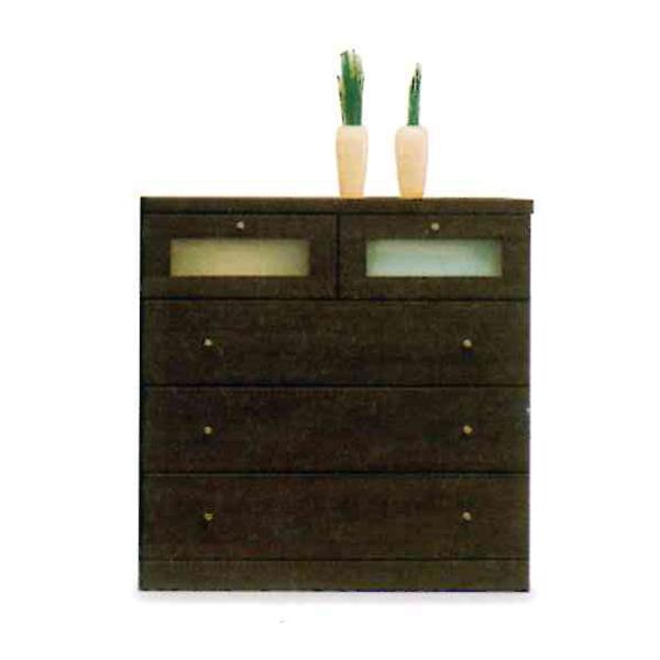 ローチェスト 木製 たんす タンス 箪笥 【エブリー D 85 ローチェスト】 モダン/おしゃれ/収納家具