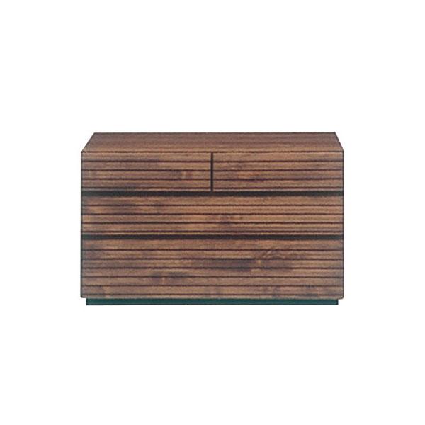 チェスト 3段 アルダー材 自然塗装 木製 シンプル おしゃれ【フェルサ 90-3チェスト】【送料無料】