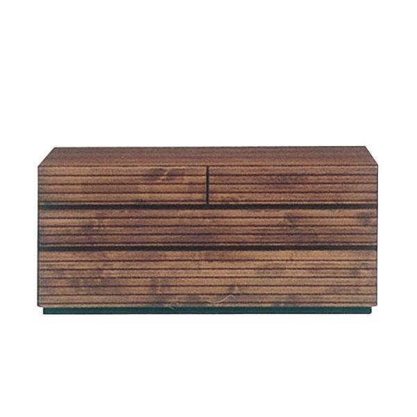 チェスト 3段 アルダー材 自然塗装 木製 シンプル おしゃれ【フェルサ 120-3チェスト】【送料無料】