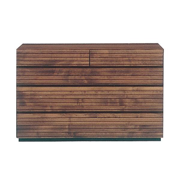 チェスト 4段 アルダー材 自然塗装 木製 シンプル おしゃれ【フェルサ 120-4チェスト】【送料無料】
