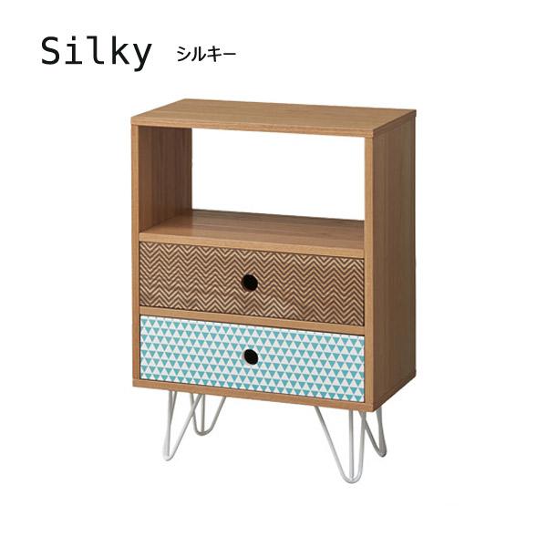 チェスト3D 幅45【KOT-714】【Silky】シルキー 天然木 アッシュ シンプル リビング収納 タンス 箪笥 引出し