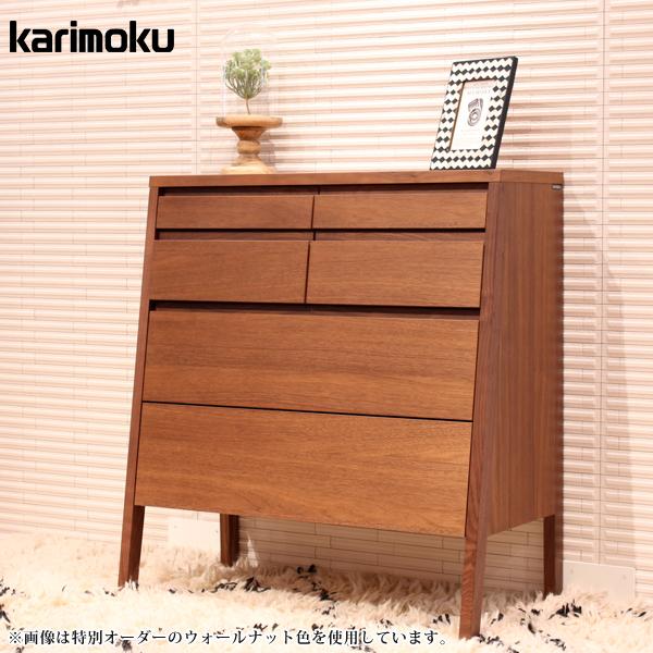 受注生産 本物 代引不可 カリモク karimoku チェスト サイドボード リビング収納 たっぷり収納 シンプル 木部:グループG 寝室 高級感 25%OFF オークD QT2814