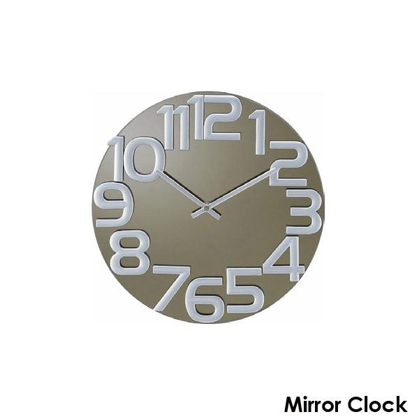 時計 clock 壁掛け時計 ミラークロック グレー 値下げ Nelson 公式 ジョージネルソン GN412 George