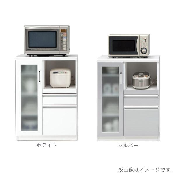 食器棚 【トップ70カウンター(Aタイプ)】 幅70 収納棚 選べるカラー2色 キッチン収納 台所棚 モイス仕様 ミストガラス仕様