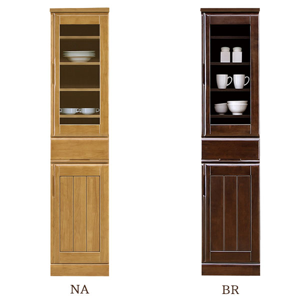 食器棚 【サンダー 40TG】幅40cm 選べる2色 木製