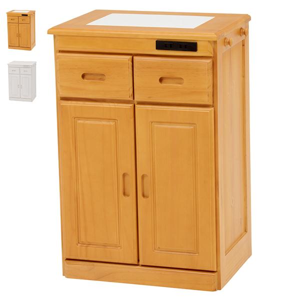 キッチンカウンター【MUD-6520NA/WS】キッチンカウンター カウンターテーブル 食器棚