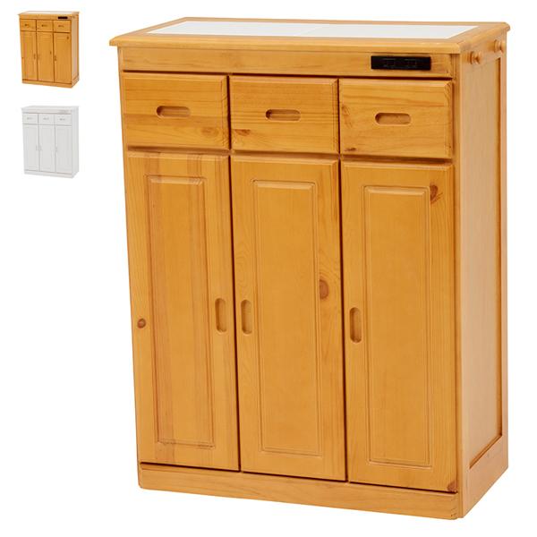 キッチンカウンター【MUD-6524NA/WS】キッチンカウンター カウンターテーブル 食器棚