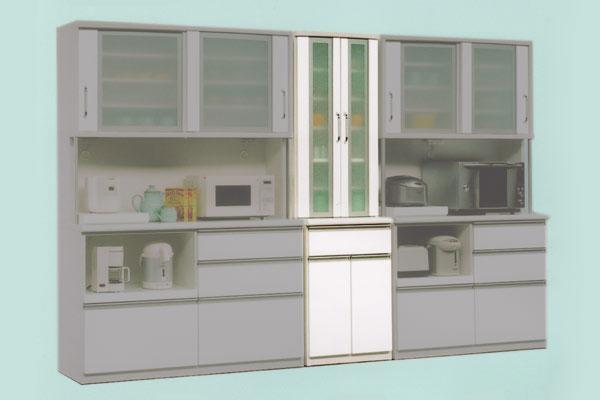 ダイニングボード キッチン収納 DB【デコ】20D食器棚 【送料無料】