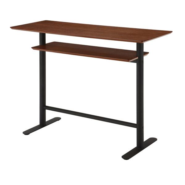 テーブル カウンターテーブル (TCR-1220 エスタ ESTA) 幅120cm 木製 おしゃれ 北欧風 送料無料 代引不可