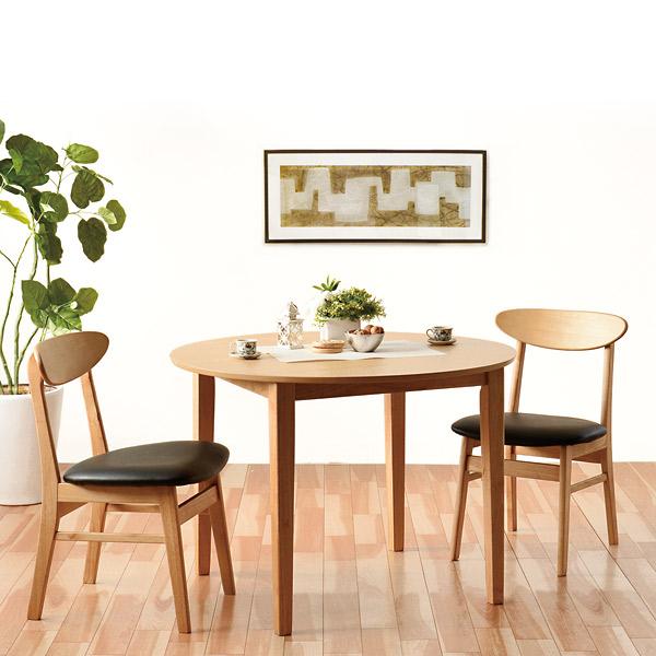 ダイニングテーブル 3点セット【ブルック ダイニング3点セット】2人掛け ダイニングテーブルセット 100cm幅 ダイニングテーブル ダイニング セット テーブル チェア リビング おしゃれ 食卓 食卓テーブル