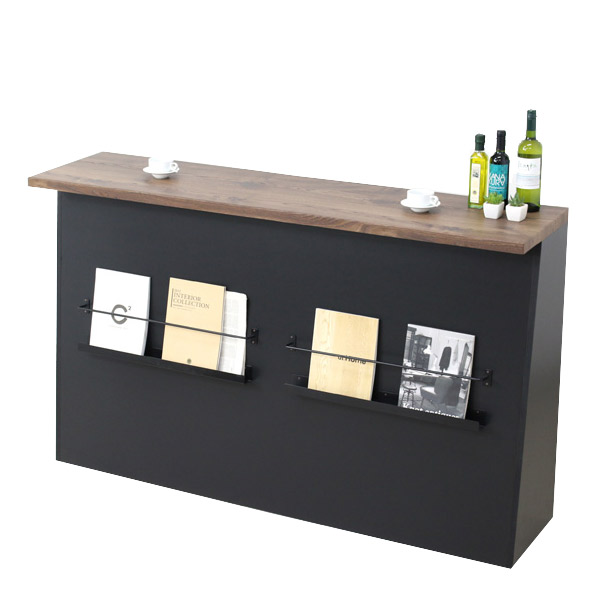 バーカウンター おしゃれ 収納家具 バーカウンターテーブル 170カウンター) ダイニング収納 カウンターテーブル (バルブ バーテーブル