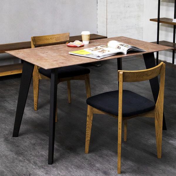 ダイニングセット ダイニングテーブルセット 食卓テーブルセット 3点セット 2人掛け おしゃれ モダン 北欧 MG's dining 120サイズ 3点セット Knock On Wood