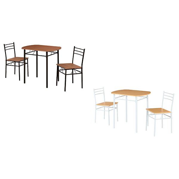 ダイニングテーブルセット【EVANS(エバンス)】DSP-86(BR)(NA) ダイニング3点セット 食卓テーブルセット 食卓セット