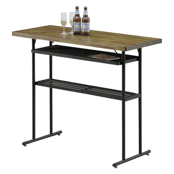 ポッパー (POPPER ハイテーブル 110cm幅 カウンターテーブル 110バーカウンター) バーカウンター 木製テーブル