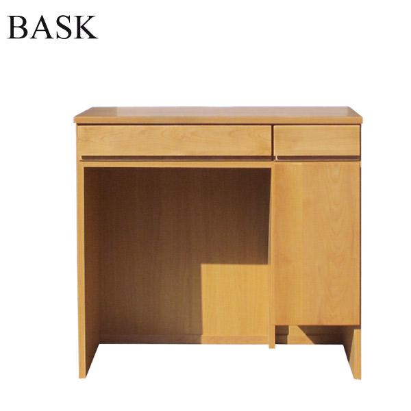 【バスク】デスク80 (ALDER) アルダー材 シンプル 木製 ナチュラル おしゃれ 天然木