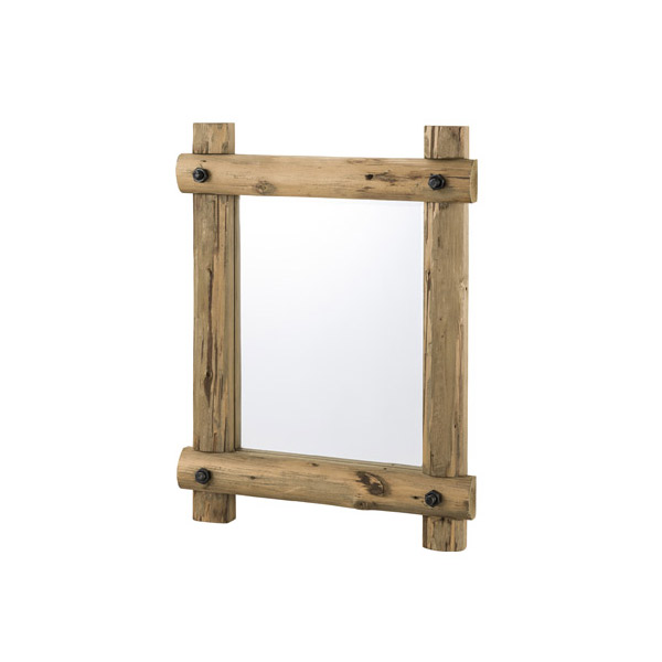 ウォールミラー【TSM-63】天然木 杉 シンプル 鏡 壁掛けミラー