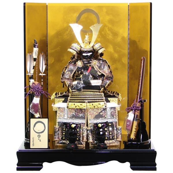 五月人形 鎧飾り 平飾り 【205KY16】【757】よろい 端午の節句 5月人形 【展示現品】