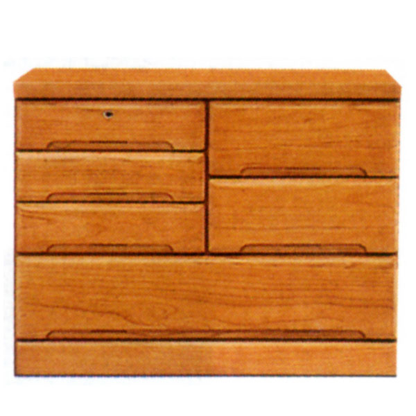 【送料無料】 チェスト 3段 タンス 収納 【ベスト2】 100サイズ 3段チェスト 表面材 天然木桐材 【収納 タンス】