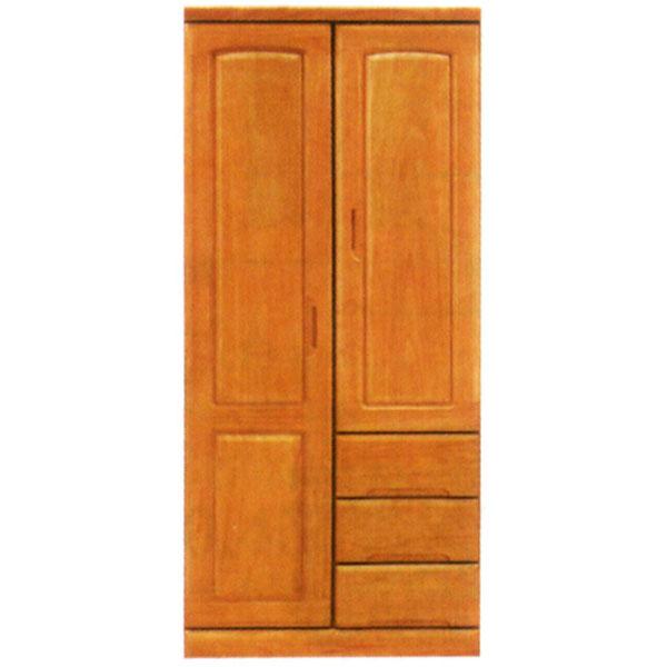 クローゼット 【ベスト2】 80サイズ マルチ 表面材 天然木桐材【送料無料】