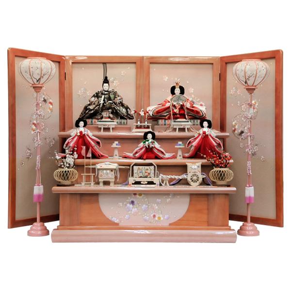 展示現品 雛人形 ひな人形 158 23-214 衣裳着人形 桃の節句/ひな祭り/お雛様